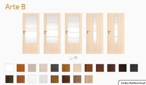 Drzwi wewnętrzne DRE - ARTE B